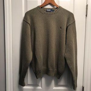Polo Ralph Lauren pullover crew sweater/LG/beige